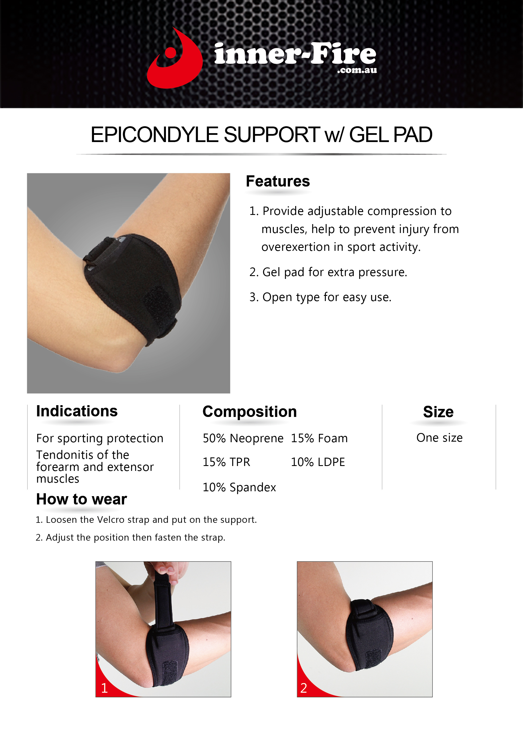 elbow brace instructions