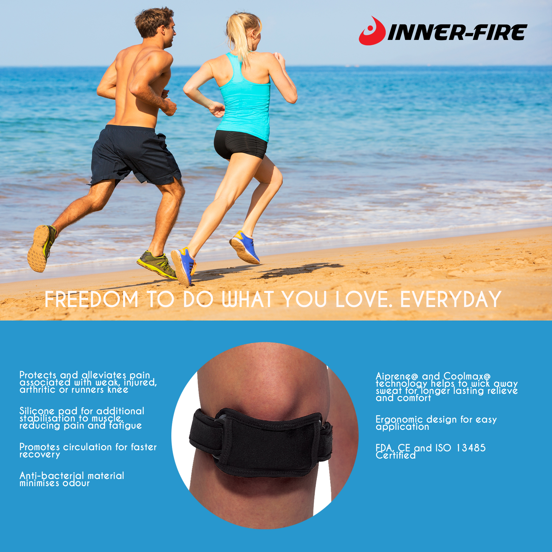 Inner-Fire Advanced Knee Strap