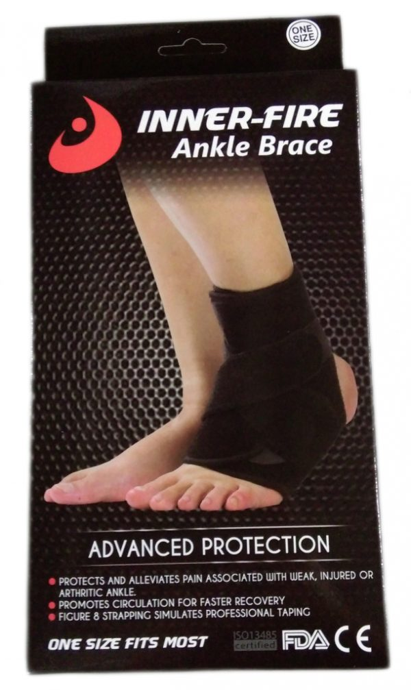 ankle brace in box