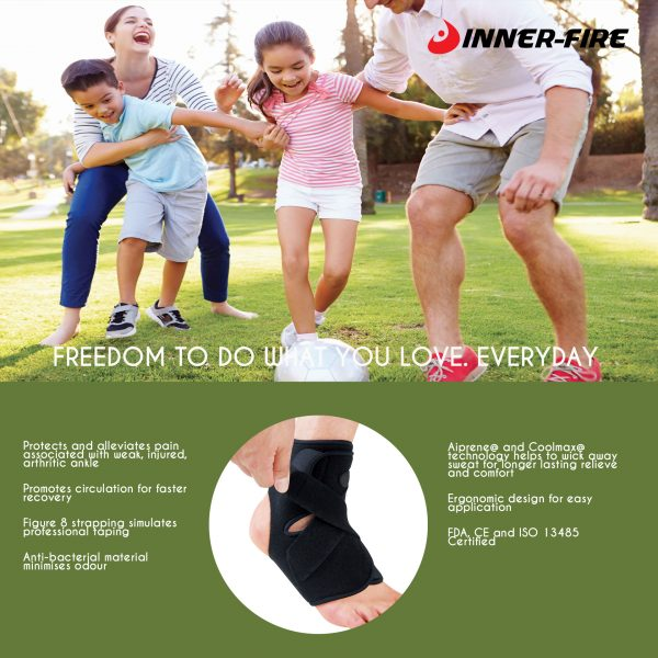 ankle brace by inner-fire pamphlet