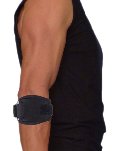 elbow strap with silicone by inner-fire